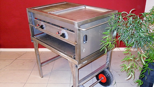Gas Barbeque slagers Role 58 x 86 cm (bakmaat 49 x 72 ) alleen rooster (excl gas)