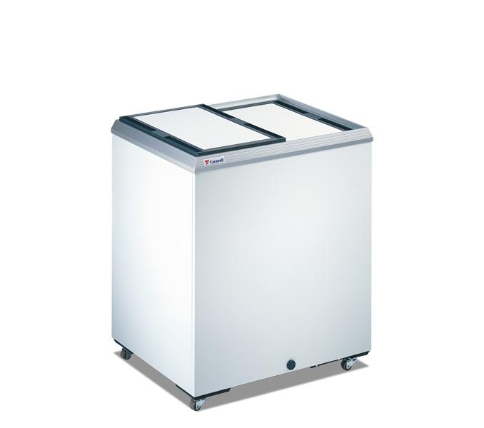 Vrieskist 213 liter + schuifdeksel