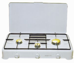 Kookplaat op gas 2 pits (excl.gas)