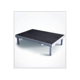 Podium 1,5 x 1 mtr.(geplaatst) 20-40-60-80 cm ( standaard is 40 cm)