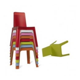 Kinderstoel assortikleuren