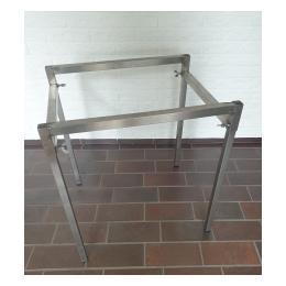 Onderstel voor gas bbq 50 x 60 met rooster of bakplaat.