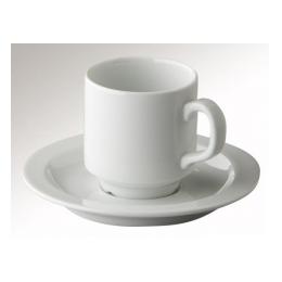 Koffiekop + schotel mammoet