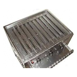 Gasbarbeque 50 x 60 evt. met rooster  (excl. gas)