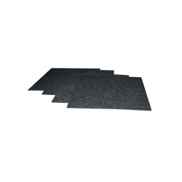 Tapijttegels 100 x 100 cm per m2 antraciet (ongelegd)