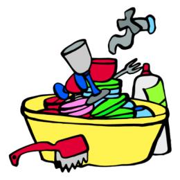 afwaskosten kratten
