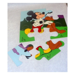 Puzzel groot Mickey mouse
