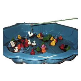 Visspel & waterbak hengeleendjes