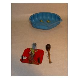 Wipspel (3 stuks + kikkers+ waterbak)