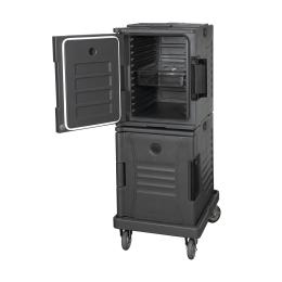 Thermobox verrijdbaar 2 x 10 GN  68x47x145 cm
