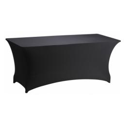 Tophoes stretch zwart v. tafel 183 x 76