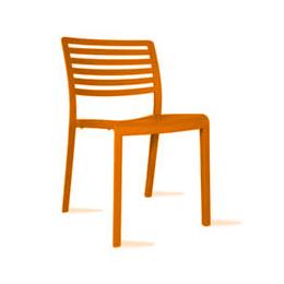 Stoel lama Oranje (beperkte voorraad)