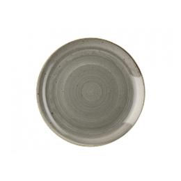Stonecast Bord ontbijt betongrijs 21,7 cm