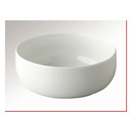 Slaschaal wit rond 22,5 cm