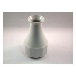 Bloemvaasje wit porcelein