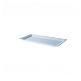 Melamine bord 17,5 x 32,5 cm ( beperkt voorradig)