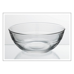 Slaschaal glas 23 cm