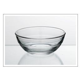 Slaschaal glas middel 17 cm