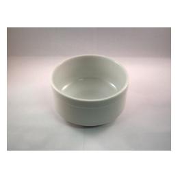 Slaschaal wit klein 11,5 cm