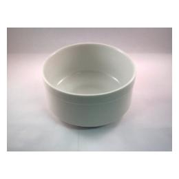 Slaschaal wit middel 13,5 cm