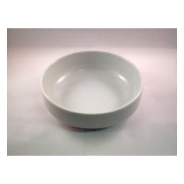 Slaschaal wit laag 15 cm